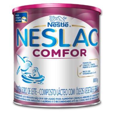 Imagem 5 do produto Composto Lácteo Neslac Comfor - lata, 800g -