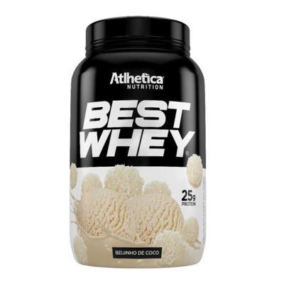 Best Whey Protein 900g - Atlhetica Nutrition - Best Whey Protein 900g - Atlhetica Nutrition - Beijinho de Coco