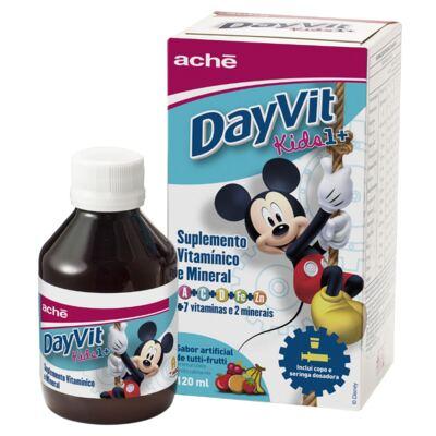 Aché DayVit Kids 1+ Suspensão Oral Tutti-Frutti 120ml