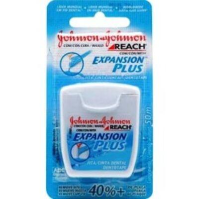 Imagem 1 do produto Fio Dental Johnson's Reach Expansion Plus 50m