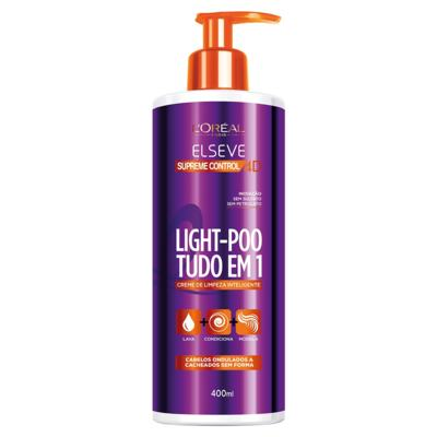Imagem 1 do produto L'Oréal Paris Elseve Light-Poo Supreme Control 4D - Tratamento - 400ml