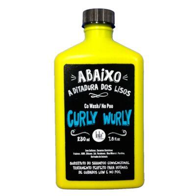 Imagem 1 do produto Lola Cosmetics Curly Wurly Co-Wash No-Poo 2 em 1  - Shampoo - 230ml
