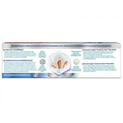 Imagem 4 do produto Creme Dental Colgate Sensitive Pro Alívio Branqueador 110g