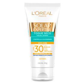 Protetor Solar Expertise Facial Toque Seco Anti Acne -  | 50g