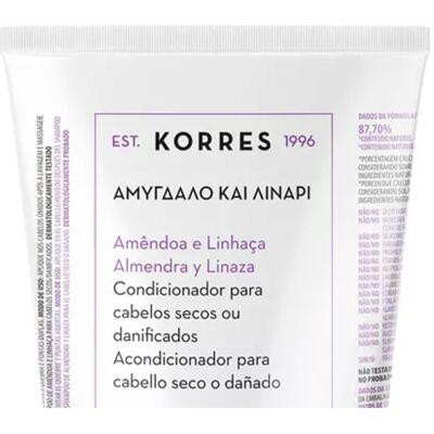 Imagem 2 do produto Korres Amêndoa e Linhaça - Condicionador - 200ml