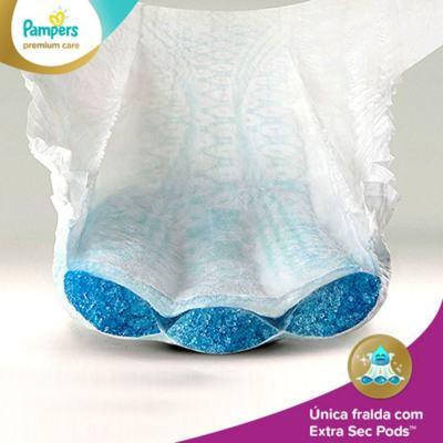 Imagem 3 do produto Fralda Descartável Pampers Premium Care Mega Tamanho P 56 Unidades