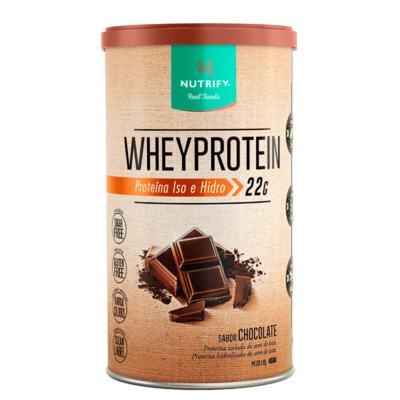 Whey Protein - 450G - Nutrify - Whey Protein - 450G - Nutrify - Baunilha