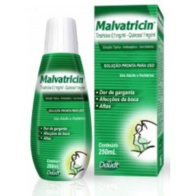 Antisséptico Bucal Malvatricin 250ml