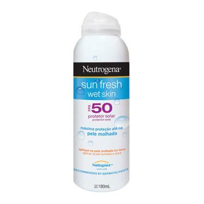 Protetor Solar Neutrogena Sun Fresh Wet Skin FPS50 - 180ml