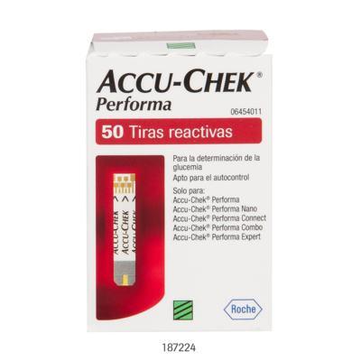 Imagem 1 do produto Tiras para Teste de Glicemia Accu-Chek Performa 50 Unidades -