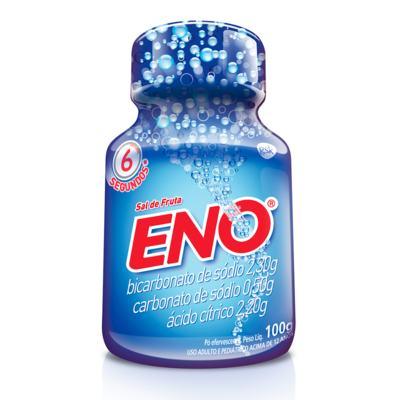 Imagem 1 do produto Sal de Frutas Eno - frasco com 100g de pó efervescente de uso oral, tradicional -