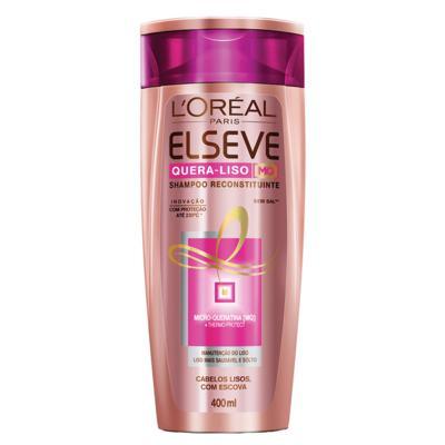 Imagem 3 do produto Kit Shampoo + Condicionador L'Oréal Paris Elseve Quera-Liso 230°C - Kit