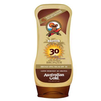 Imagem 1 do produto Kona Coffee Instant Bronzers SPF 30 Australian Gold - Protetor Solar - 237ml