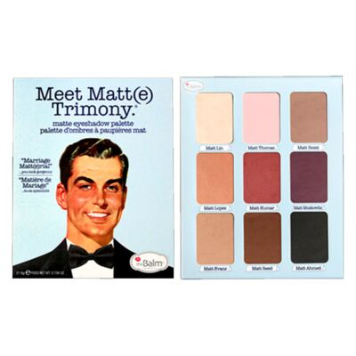 Imagem 4 do produto Meet Matt(e) Trimony The Balm - Paleta de Sombras - 1 Un