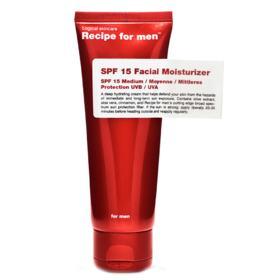 Hidratante Facial - Recipe For Men Moisturizer SPF15 - 75ml