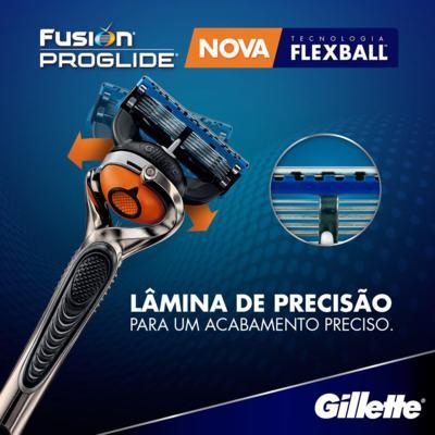 Imagem 3 do produto Carga Gillette Fusion Proglide - 4 Unidades