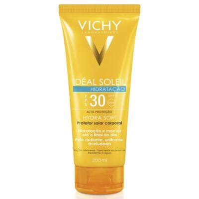 Protetor Solar Vichy Idéal Soleil Hydra Soft Fps 30 200ml
