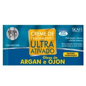 Skafe Keraform Ultra Ativado Argan e Ojon - Máscara de Hidratação - 500g