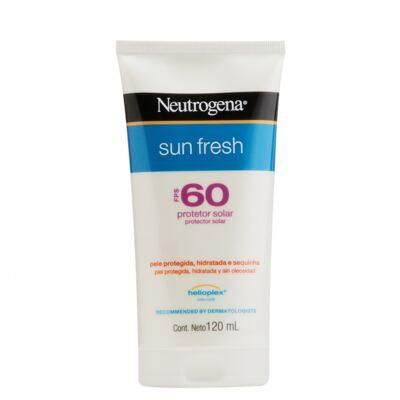 Imagem 1 do produto Protetor Solar Neutrogena Sun Fresh FPS 60 120ml