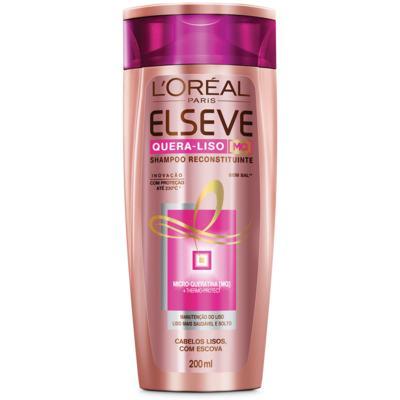 Shampoo Elseve Quera-liso Reconstituinte 200ml