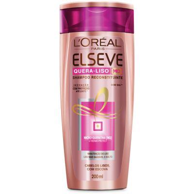 Imagem 1 do produto Shampoo Elseve Quera-liso Reconstituinte 200ml