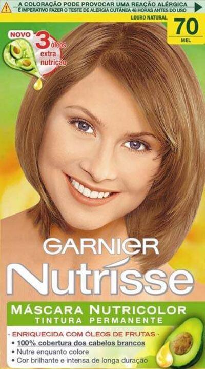 Imagem 1 do produto Tintura Garnier Nutrisse Mel