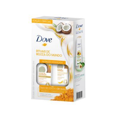 Kit Dove Ritual de Reparação Shampoo + Condicionador - 400ml + 200ml