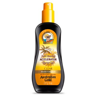 Spray Gel Bronzeador Australian Gold - Accelerator Dark Tanning - 237ml