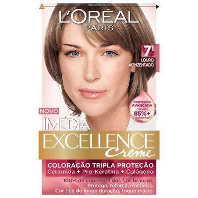 Imagem 1 do produto Tintura Imédia L'Oréal 7.1 Loiro Acinzentado