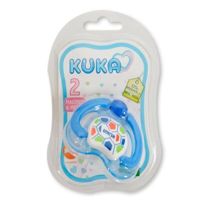 Chupeta Ortodôntica Kuka Lovely Nº2 - Azul Sortidas | 1 unidades