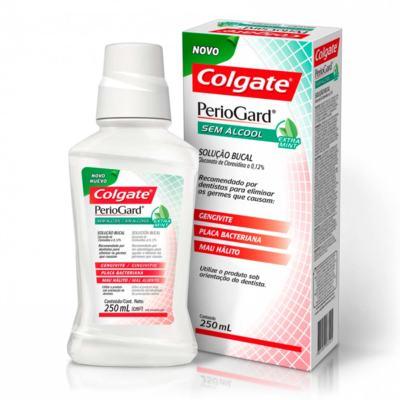 Imagem 1 do produto Enxaguante Bucal Colgate PerioGard Extra Mint 250ml