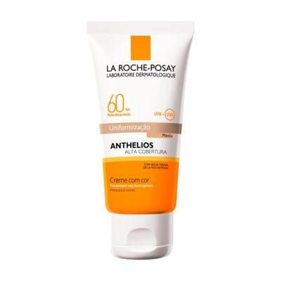 Protetor Solar Facial La Roche-Posay Anthelios Cor Média FPS60 40ml