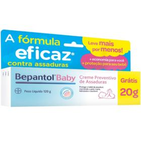 Creme Preventivo de Assaduras - Bepantol Baby | 120g