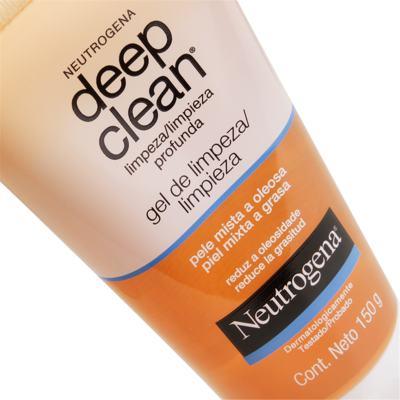 Imagem 2 do produto Gel Limpeza Profunda Neutrogena Deep Clean 150g