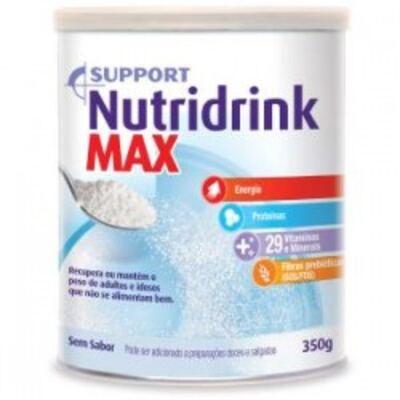 Imagem 1 do produto Nutridrink Max Danone Sem Sabor 350g
