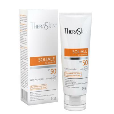 Imagem 1 do produto Protetor Solar Theraskin Soliale Gel Creme FPS50 50g