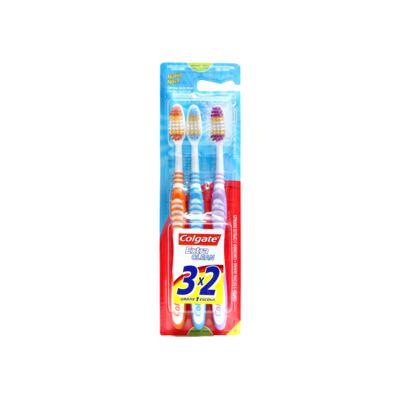 Imagem 1 do produto Escova Dental Colgate Extra Clean Média 3 Unidades