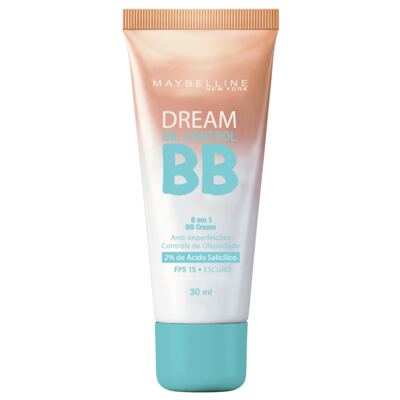 Imagem 1 do produto BB Cream Maybelline Dream Oil Control Escuro FPS 15 30ml