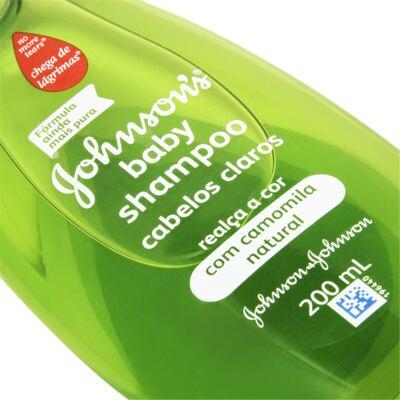 Imagem 2 do produto Shampoo Johnson's Baby Cabelos Claros 200ml