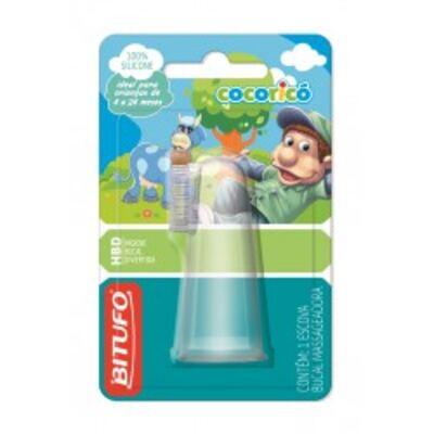 Imagem 1 do produto Escova Dental Bitufo Massageadora Cocoricó