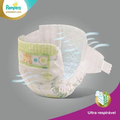 Imagem 4 do produto Fralda Descartável Pampers Premium Care M 72 Unidades