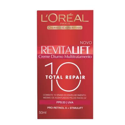 Imagem 2 do produto Creme Diurno Revitalift Total Repair 10 L´Oréal Paris FPS20 Feminino 50ml
