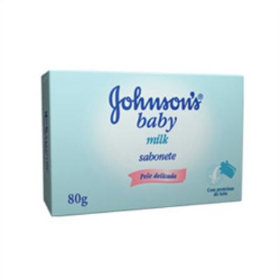 Imagem 1 do produto Sabonete Johnson's Baby Milk 80g