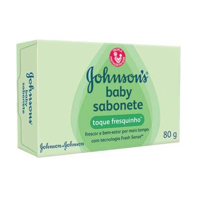 Imagem 1 do produto Sabonete Johnson's Baby Toque Fresquinho 80g