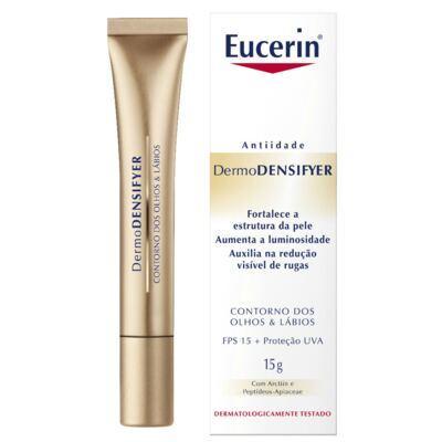 Imagem 1 do produto Creme Anti-idade Olhos e Lábios Eucerin Dermodensifyer 15g
