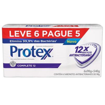 Imagem 2 do produto Sabonete Protex Complete 12 90g 6 Unidades