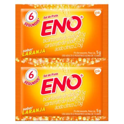 Imagem 1 do produto Sal de Fruta Eno Laranja 5g 2 Envelopes