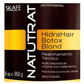 Skafe Natutrat Hidrahair Botox Blond - Tratamento - 950g