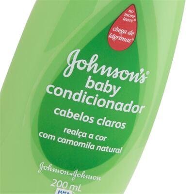 Imagem 2 do produto Condicionador Johnson's Baby Camomila 200ml