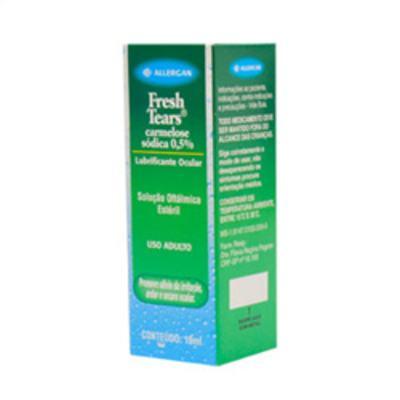 Fresh Tears - 5mg/mL, caixa com 1 frasco gotejador com 10mL de solução de uso oftalmológico - 10mg/mL